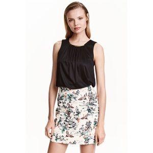 H&M Jacqaurd Skirt